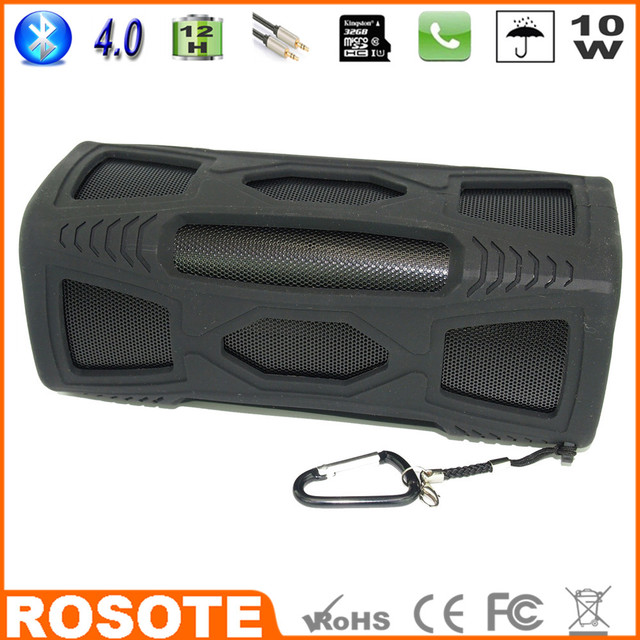 2015 Waterproof 10W Super Bass Portable HI-FI ceiling mifa for car Bluetooth 4.0 speaker
