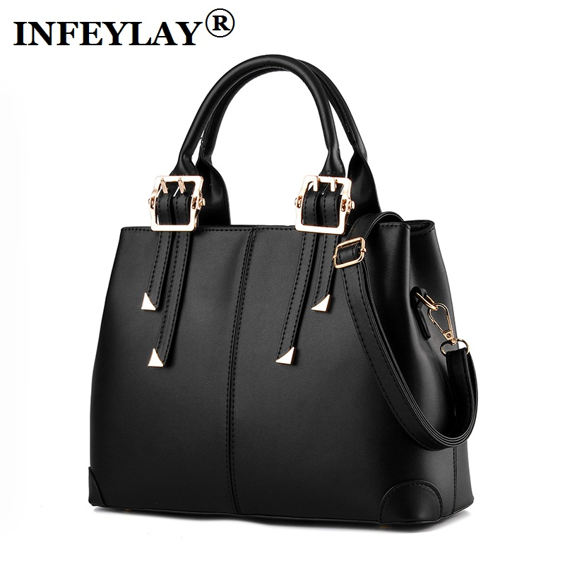 HOT Beautiful lady Single shoulder bag embossed casual handbag fashion PU girl travel messenger bags Women 2017 new vintage Bag