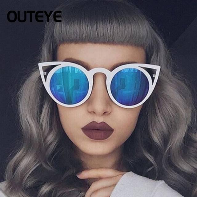 692959bfa0ae6 placeholder 2019 Olho de Gato Do Vintage Óculos De Sol Das Mulheres Designer  de Marca Óculos de
