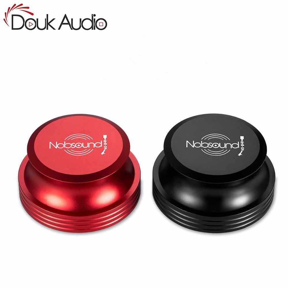 Douk аудио Hi-End Hi-Fi виниловая запись вес LP стабилизатор зажим для проигрывателя алюминиевый аудиофил класс