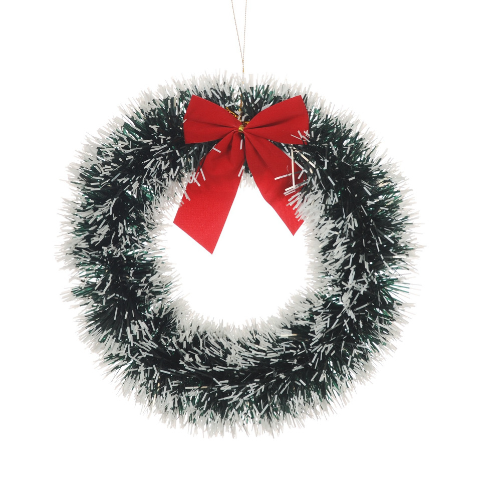 chrismas decoration door wreath for xmas supermarket hotel windows christmas tree garland party supplies home hanging pendant - Garland For Christmas Tree