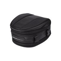 Saddle Bag Shoulder Bag Package Carry Bag Back Seat Bag Motorcycle Rear Tail Seat Bag Waterproof Helmet Bag Universal