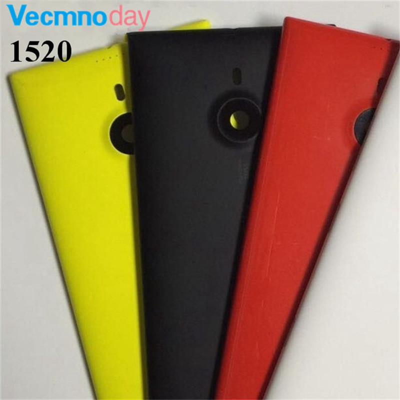 Vecmnoday New Battery cover for Nokia Lumia 1520 Back Cover Rear Cover Housing + Side Button Free Shipping - four colors