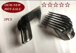 2 sztuk QC5130 głowica do strzyżenia włosów grzebień 3-21 MM 1/8-5/8 cal dla philips elektryczne nożyce do strzyżenia włosów QC5105 QC5115 QC5120 QC5125 QC5135