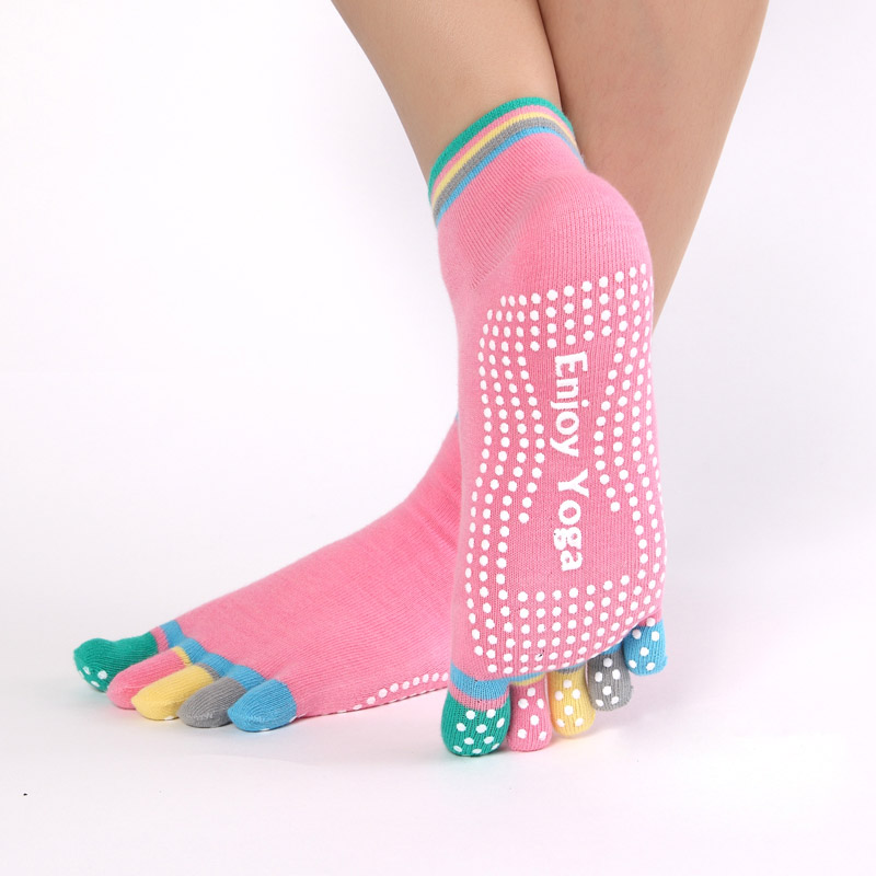 Women's Enjoy Yoga Sports Socks 3