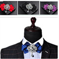 British tie cravat bow tie dress for men and women Groom groomsmen cravat bow tie Korean flower upscale receive flowers