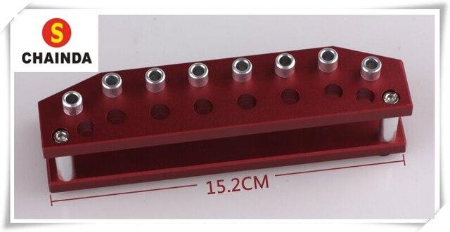 Gratis Verzending 1 ST Aluminium Horloge Schroevendraaier Stand voor 8 stks Schroevendraaier Set