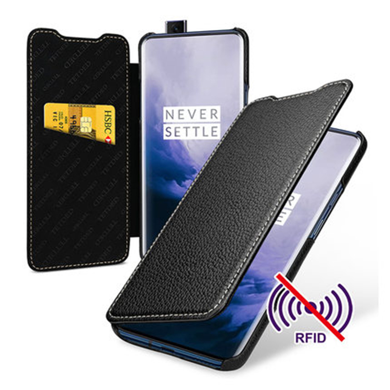 Fashion Wallet Case Cover for Oneplus7 Business Flip Shell Phone Bag for Oneplus 7 Pro 1+ 7 Genuine Leather Skin Fundas