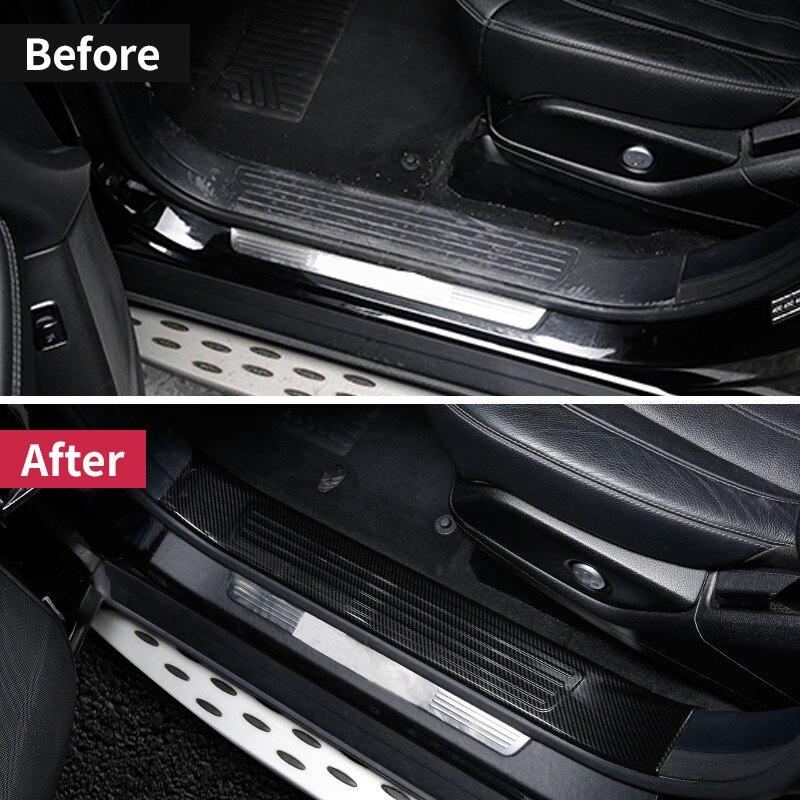 Pour Mercedes Benz GLE W166 350d GLE coupe C292 amg GLE Mercedes seuil de porte seuil plaque bienvenue pédale revêtement d'habillage accessoires