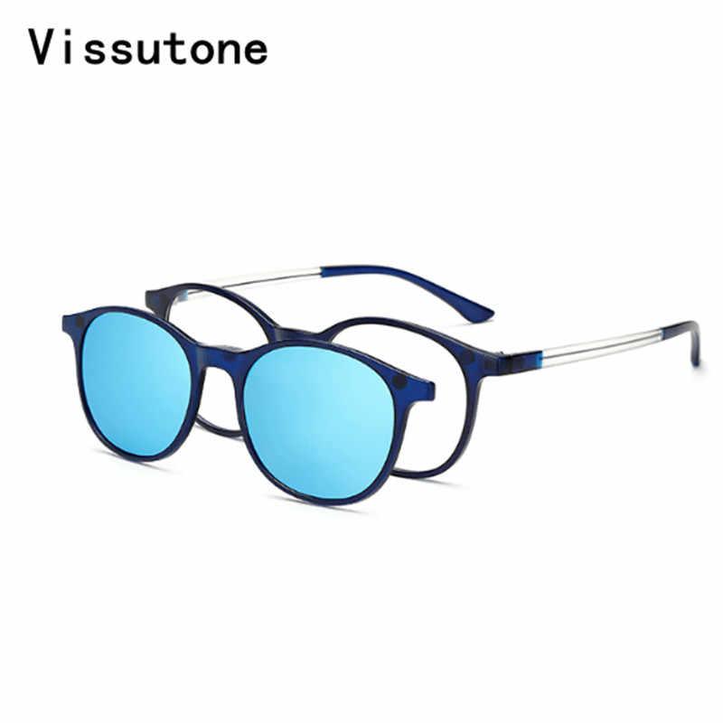 0e4476668d35 Подробнее Обратная связь Вопросы о Новые солнцезащитные поляризованные очки  с оправой TR90, магнитной застежкой, солнцезащитные очки для мужчин и  женщин, ...