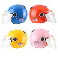 Free Shipping Motorcycle Helmet Top Level Open Face Helmet 3 4 Helmet Child Motorbike Helmet Kids