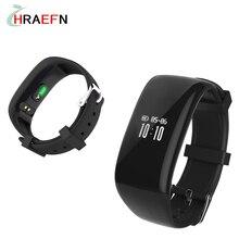 Harefn Новый X16 Смарт Пульсометр Bluetooth активность браслет Фитнес-Трекер Браслет часы для IOS Android