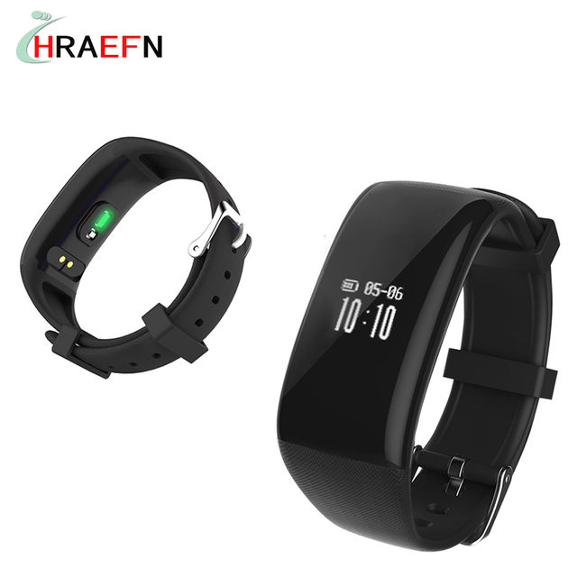 Harefn Newest X16 Smart Band Heart Rate Monitor Bluetooth Activity Bracelet Fitness Tracker Wristband Watches For