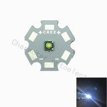 10pcs Cree XPE R3 1-3W LED Emitter Diode Warm White 3000K Naturally white4000k  Cool White 6500K with20/16/14/12/10/8mm heatsink цена и фото