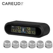 купить Solar Power TPMS Universal Wireless Real-Time Displays Tire Pressure Monitoring System 6 External / Internal TPMS Sensor дешево