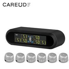 TPMS Universal Wireless Real-Time Displays Tire Pressure Monitoring System 6 External / Internal TPMS Sensor аксессуар carax tpms crx 1003