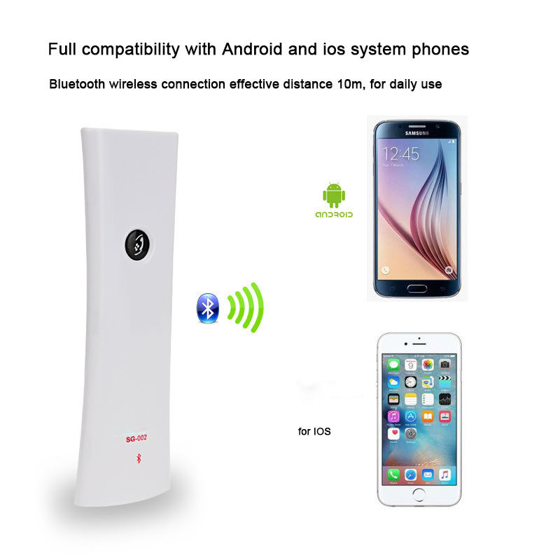 Anti Radiation Bluetooth Headphone Wireless Handset Calling Portable Phone Receiver With Microphone For Iphone Android Headset Bluetooth Earphones Headphones Aliexpress