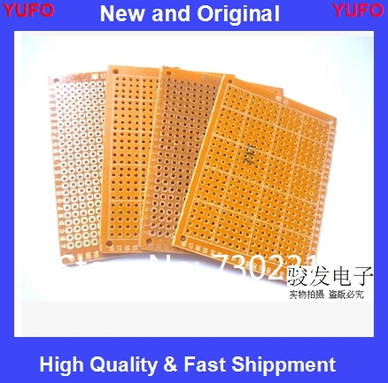 Free Shipping 10Pcs DIY Prototype Paper PCB Universal Experiment Matrix Circuit Board 5x7cm