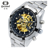 Hot Sale Luxury Mechanical Watch Men Watch Fashion Skeleton Watch Gucamel Business Men S Watches Hour