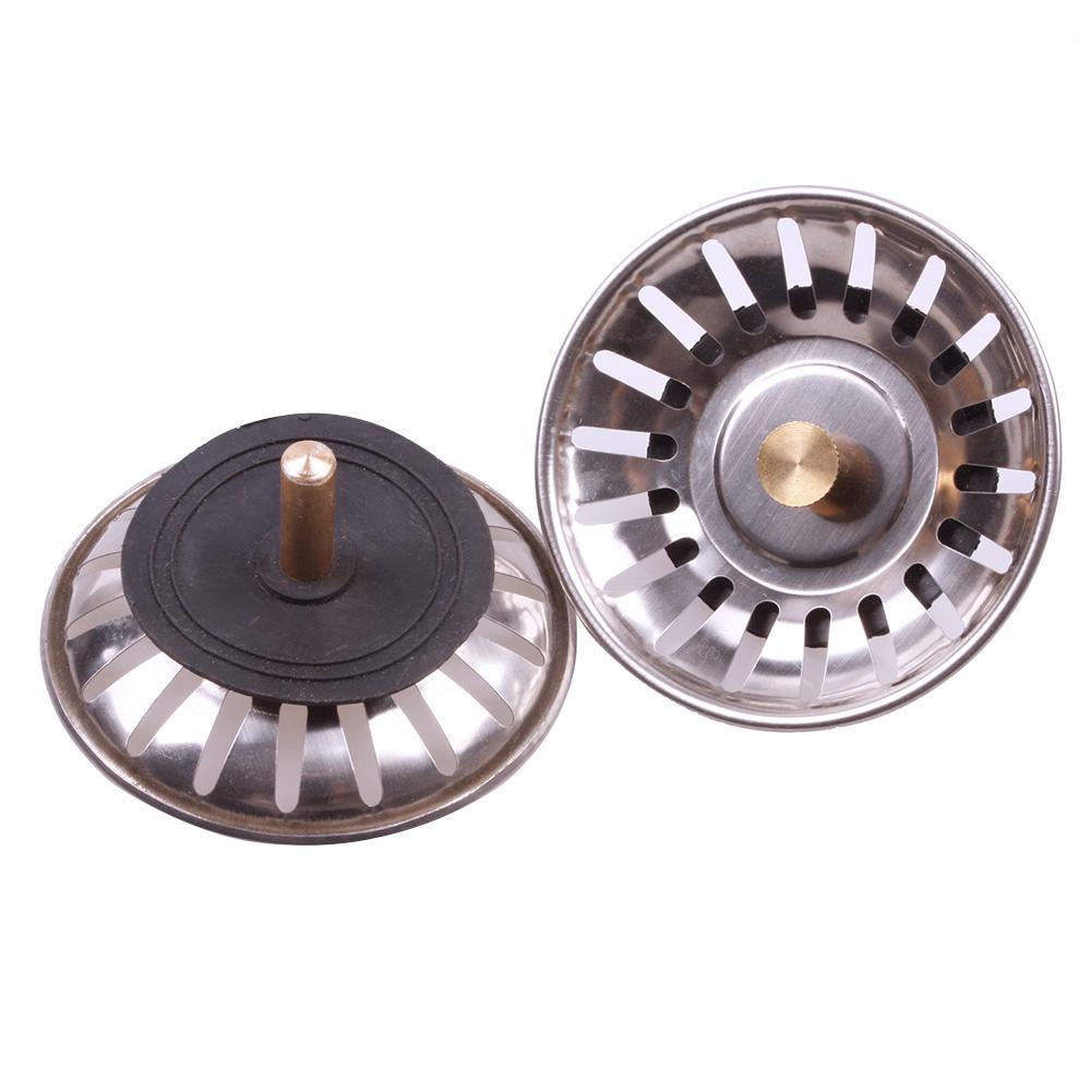 Practical Kitchen Stainless Steel Sink Strainer Waste