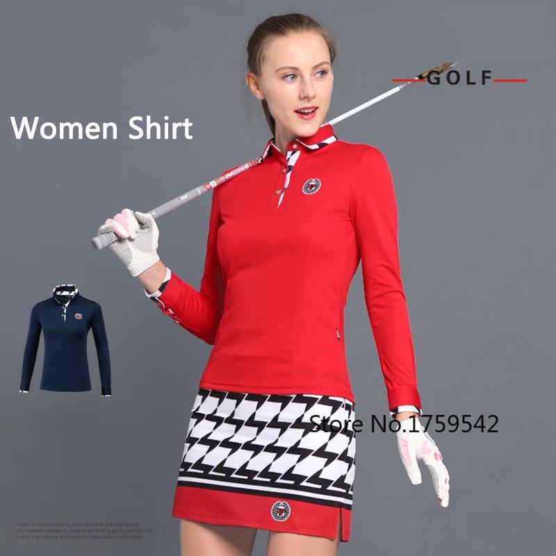 2019 Women Shirt Long Sleeve Golf Shirts Ladies Korean Tops Polo Clothing Sport Sport Wear 2018 Spring Autumn Clothes2019 Women Shirt Long Sleeve Golf Shirts Ladies Korean Tops Polo Clothing Sport Sport Wear 2018 Spring Autumn Clothes