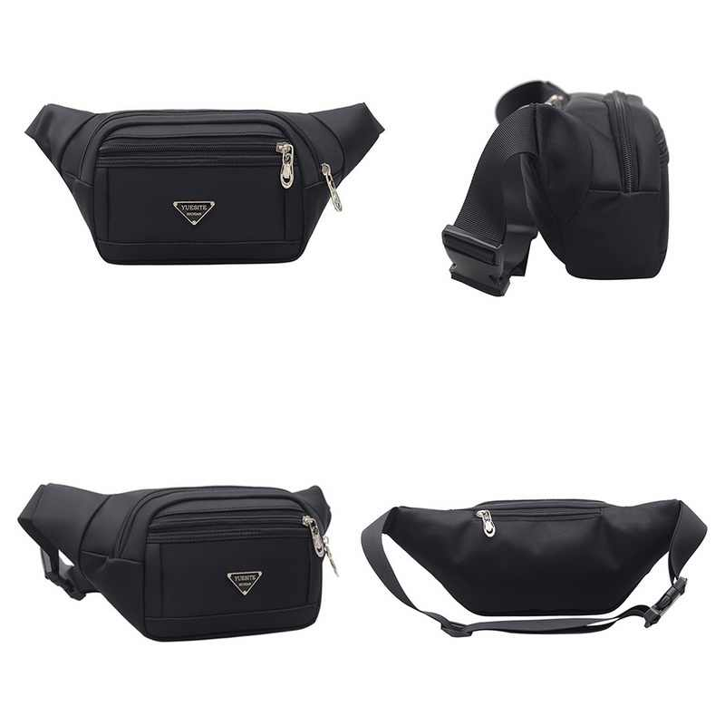2019 新ホットスタイル男性レザーカジュアルのウエストベルト財布ヒップ電話旅行スポーツバッグハンドバッグ