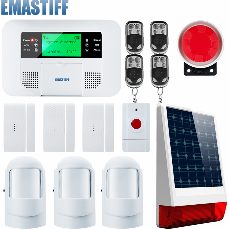 все цены на G4B Super better PSTN GSM Alarm Systems Android IOS APP Alarms Home Security System for your home онлайн