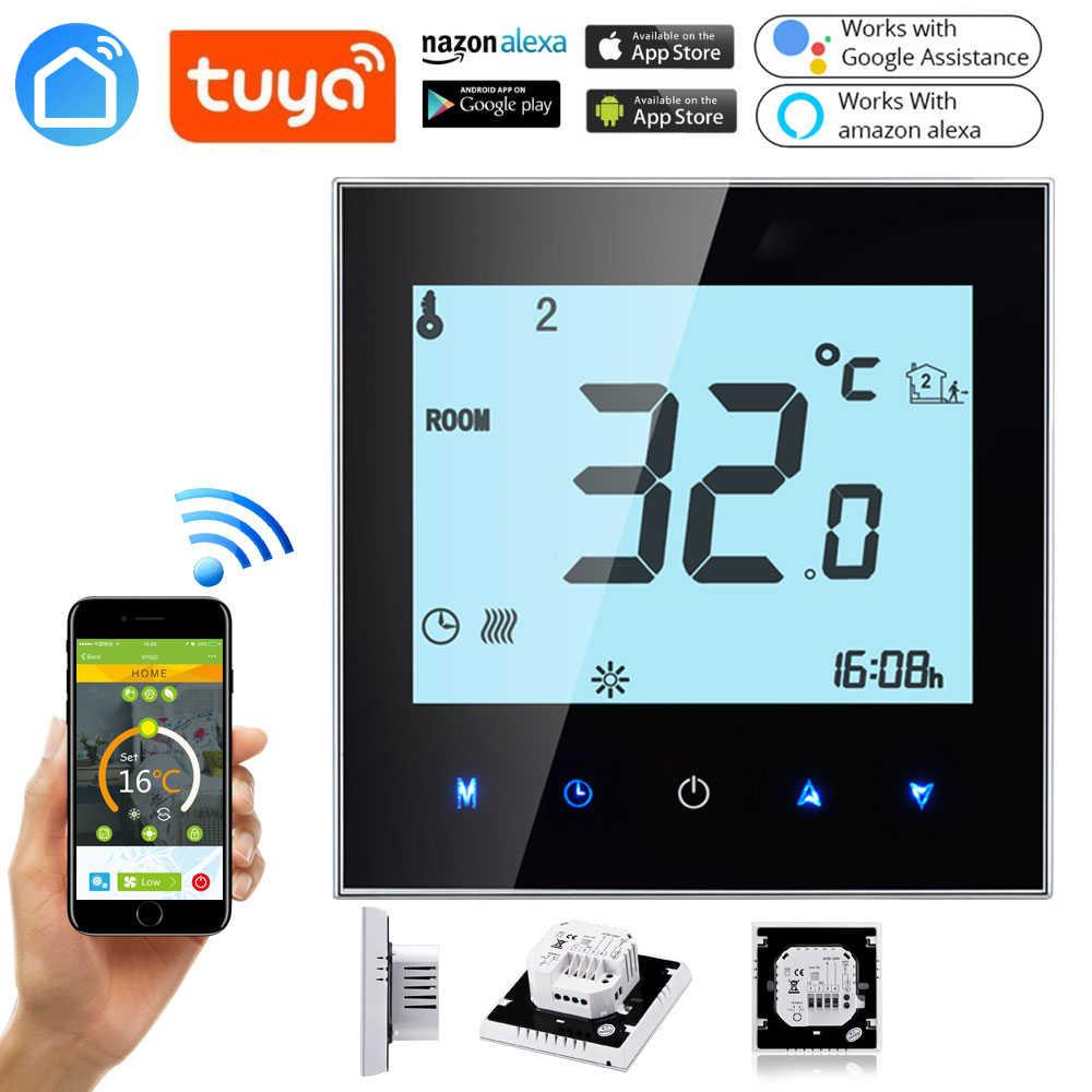 Temperatura Caldaia Impianto A Pavimento tuya wifi intelligente caldaia a gas termostato per il
