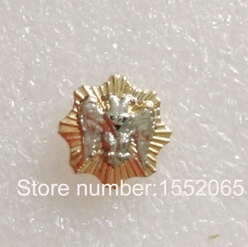 Big wholesale 9MM Scottish Rite Button with Rays Lapel Pin Badge