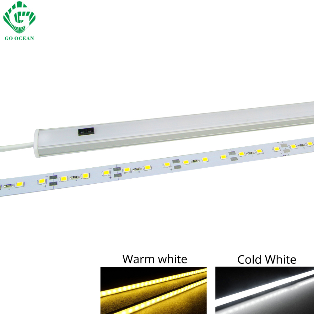 LED Cabinet Light LED Bar 12V Motion Sensor Kitchen Wardrobe Night Lights Lighting for Under Kitchen Cabinets Closet Light