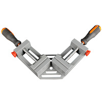 Free Shipping Double Handle 90 Degree Angle Clip Woodworking Jigs Fast Type Aluminum Quick Release Corner