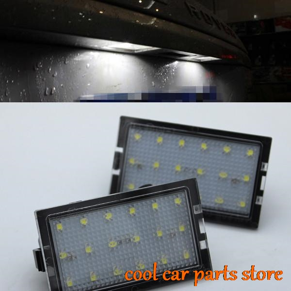 Range Rover Sport 2005 2013: 2x Error Free LED License Plate Light For Land Range Rover