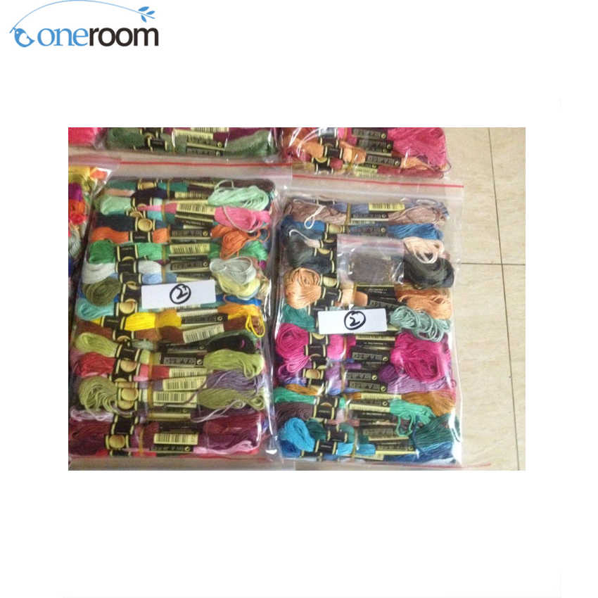 oneroom Similar DMC Floss Choose Appointed Color Cross Stitch Yarn Thread Floss cxc threads higher quality two labels