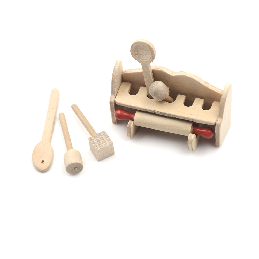 Dollhouse Miniature Baby Toys Kit with 3 Toys 1:12 Scale New