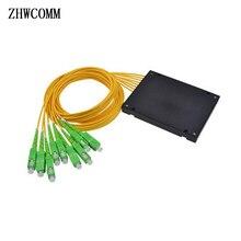 ZHWCOMM haute qualité 1M SC APC 1X8 fibre optique séparateur boîte SC/APC Fiber optique PLC séparateur