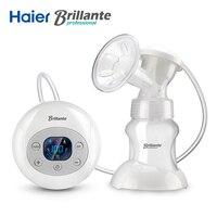 Original Brillante New Electric Breast Pump BPA Free Large Suction Baby Feeding USB Power With 150ml