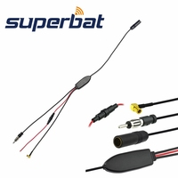 Superbat DAB Car Radio Antenna FM AM To DAB FM AM Aerial Amplifier Converter Splitter And