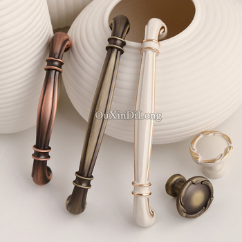 Brand New 10PCS Furniture Handles European Modern Style Drawer Dresser Wardrobe Cupboard Cabinet Kitchen Pulls Handles and Knobs
