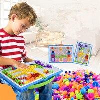 Toys For Children 296 Pieces Set Intelligent 3D Puzzle Games For Children Kids Educational Toys Puzzle