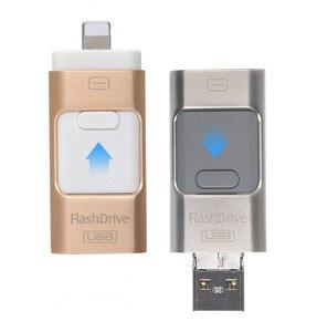 Новинка 3,0 i-Flash pen драйвер HD u-диск данных для iPhone/iPad/iPod, микро usb интерфейс флэш-накопитель для ПК/MAC 256G/32G/64G