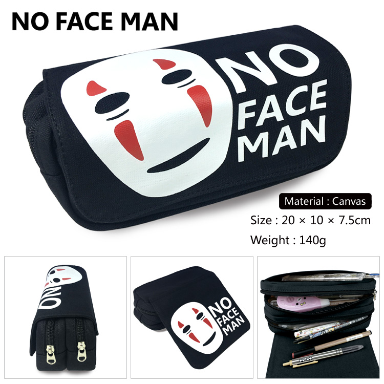 OHCOMICS Hot Anime My Neighour Totoro Spirited Away No Face man Pencil Bag Pencil Case Box For Study School Costume Pendants