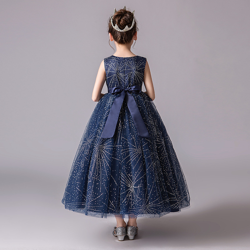 9b0984a2e Plus Size Girls Dress Elegant Evening Prom Dress for Girls 11 12 13 14  Years Old Printed Long Frocks Princess Costume for Party-in Dresses from  Mother ...