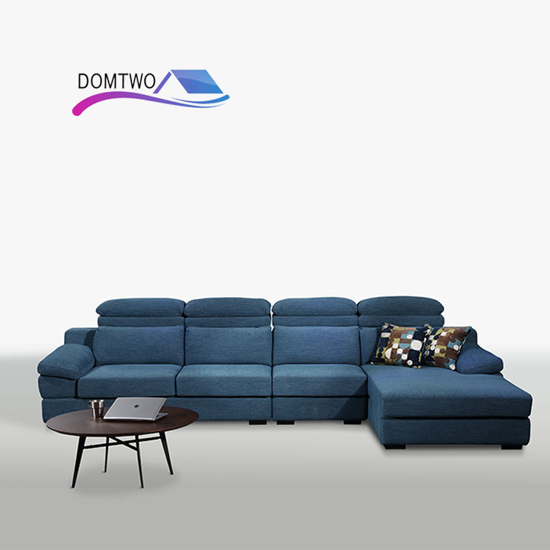 Nordic Simple Cloth Sofa Combination Large Size Washable Living Room Sofa