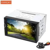 Zeepin 7002 7 Inch TFT Touch Screen Double Din 12V Car Multimedia MP5 Player With Camera