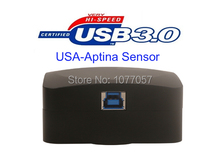 Best Buy Free shipping , HD High resolution 18 Mega  USB3.0 digital microscope camera with USA Aptina CMOS sensor