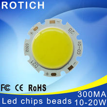 ФОТО high power epistar cob led chip 10w 15w 18w 20w dc 27v-60v integrated beads smd for floodlight spotlight warm white /white