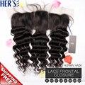 Дешевые природный индийский свободно фигурные волны девственные волосы кружева кусок, 13 x 4 кружева фронтальной отбеленные узлы, Волнистые переплетения закрытие