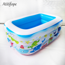 Three layers inflatable pool Water Pool in Summer Pit Ball Childrens Swim Center Family