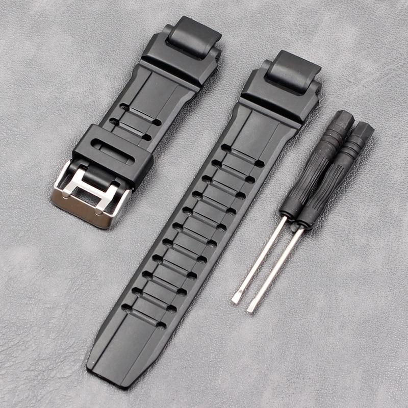 Silicone Strap For  Casio GW-4000-A1100 GA-1000-1100-G-1400 Sports Waterproof Rubber Strap