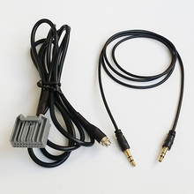 Car Stereo Female 3.5mm Jack Aux Input Cable Adapter For Honda Civic CRV Accord